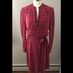 TORY BURCH  Judi Silk Print Dress